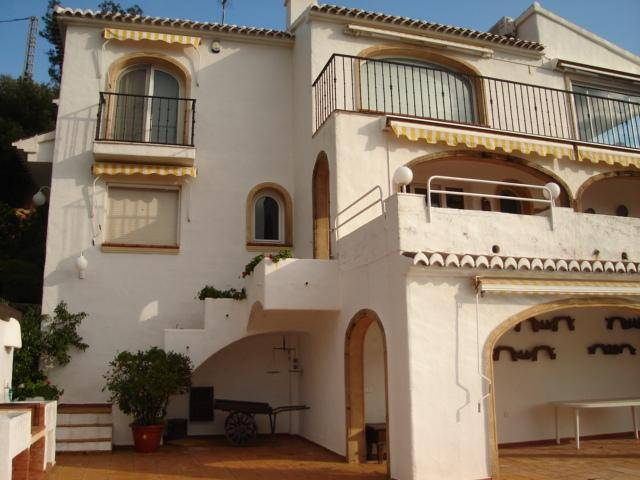 JV 454 mansion en javea en costa nova