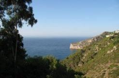 parcela con vistas al mar en javea