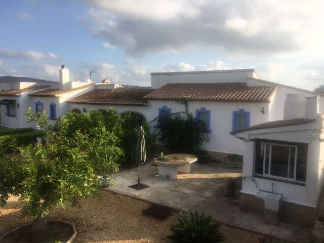 JV 1759 villa en javea estupenda en tarraula